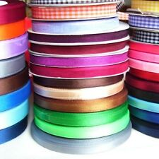 5 METRES OF SATIN/ORGANZA/GINGHAM RIBBON 6MM - 13MM (APPROX)