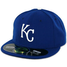 Kansas City ROYALS GAME Home Blue New Era 59FIFTY Fitted Caps MLB On Field Hats