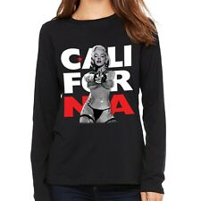 New Ladies Long Sleeve T-Shirt Marilyn Monroe California Movie Star Idol W17359