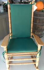 IN/OUTDOOR ROCKER ROCKING CHAIR CUSHION PAD-FITS CRACKER BARREL-SOLIDS & STRIPES