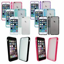 CLEAR Hard Back Silicone TPU Bumper Case Cover For New iPhone 6 4.7 Air