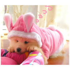 Pet Puppy Dog Cat Clothes Lovely Bunny Coat Hoodie Sweater Costumes