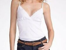 LADIES WHITE VEST FROM LA REDOUTE WITH LACE TRIM SIZE 14-16/18-20