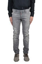 "Dsquared2 ""Slim Jeans"" Men's Gray Distressed Jeans US 28 30 32 34 36"