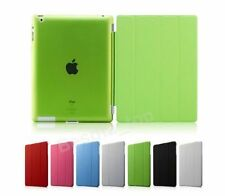 ULTRA THIN MAGNETIC LEATHER SMART CASE COVER STAND FOR APPLE iPAD 3 & 2 & 4