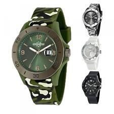 Orologio CHRONOSTAR By SECTOR Camouflage Military Verde Nero Bianco Silicone DD
