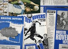 Bristol Rovers HOME programmes 1960s and 1970s choose from list FREE UK P&P