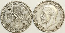 1928 to 1936 George V Silver Florin Second Design Your Choice of Date