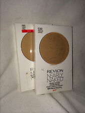 Revlon NEARLY NAKED Pressed Powder *YOU PICK SHADE ~ REDUCED FOR QUICK SALE*
