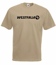 VW VOLKSWAGEN CAMPER WESTFALIA GRAPHIC HIGH QUALITY 100% COTTON T SHIRT