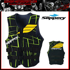 SLIPPERY NEOPRENE VEST SURGE NEO LIFE JACKET JETSKI IMPACT PROTECTION BLACK /G