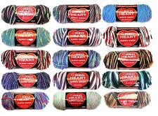 Red Heart Super Saver Yarn 6 oz Multi Color 100% Acrylic ~ Your Choice ~