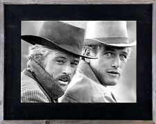 Salvaged Reclaimed Wood Picture Frame-Butch Cassidy