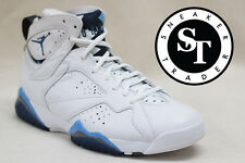 AIR JORDAN 7 VII RETRO 304775-107 REMASTERED FRENCH BLUE WHITE DS SIZE: 12