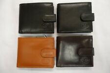 High Quality Luxury Mens Soft Leather Wallet With Large Zipped Coin Pocket