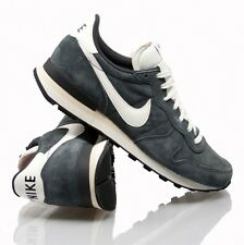 Nike Internationalist Pigskin Leather - art. 705017 - Anthracite - New - SS '15