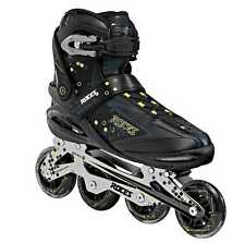 Roces Men's Pixel Inline Fitness Skates Italian Design Black/Acid 400740 00001