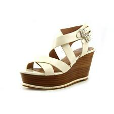 Vince Camuto Giada Womens Open Toe Leather Wedge Sandals Shoes