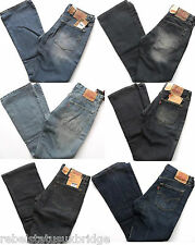 LEVI's Jeans Girls Red Tab 525 Boot Cut Zip Fly Denim Various Colours & Sizes
