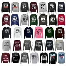 NEW WOMENS NOVELTY GRAPHIC PRINT SWEATSHIRT JUMPER SWEATER LADIES TOP