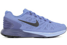 Nike Lunarglide 6 654434 404 New Womens Blue Black Athletic Casual Running Shoes