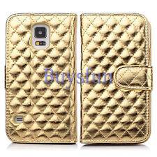 Luxury Card Slot Leather Wallet Case Cover For Samsung Galaxy S5 GS5 Note 3