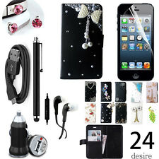 For Samsung galaxy Mega2 Accessories bundle case charger earphones cable film