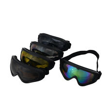 Airsoft Goggles Tactical Paintball Clear Glasses Wind Dust Motorcycle Protection