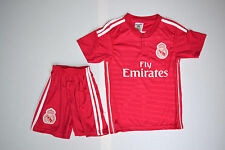 New Boys & Girls No 7 Christiano Ronaldo Real Madrid Away Football Kit