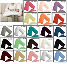 Orthopaedic Pregnancy Nursing V Shaped PillowsCase Back and Neck Support Pillow