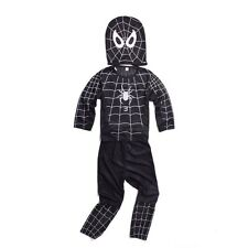 Black Spiderman 3 VENOM Polyster Costume Mask Outfit Superherp Cosplay Costume