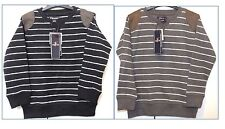 BOYS BRUSH BACK FLEECE JUMPERS 3-8 Years