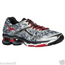 MIZUNO WAVE CREATION 15 Men's Running Shoes Silver Red Black - MANY SIZES