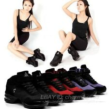 Women Athletic Trendy Sneakers Comfy Modern Jazz Hip Hop Dance Shoes Breathable