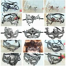 Sexy Venetian Mask Laser Cut Lace Metal Masquerade Party Cosplay Face Masks