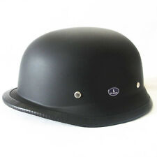 German Motorcycle Bike Street Half Helmet DOT Chopper Cruiser Vintage WWII Yunos