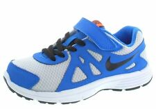 Nike Revolution 2 PSV Sneakers Shoes Toddler & Youth Boy Sizes Blue Silver  NEW