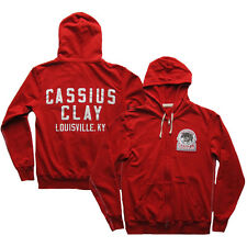 Roots of Fight Cassius Louisville Champ French Terry Hoodie - Red