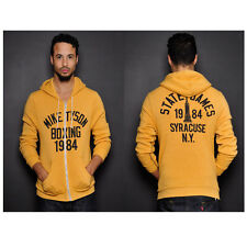 Roots of Fight Tyson Boxing '84 Zip-Up Hoodie - Yellow