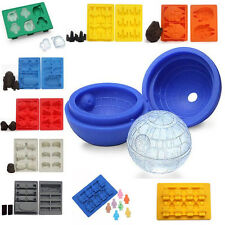 Silicone Star Wars Ice Cube Tray Mold Cookies Chocolate Baking Mould