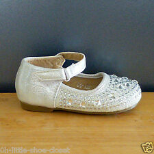 White Pageant Dress Party Shoes Baby Infant & Toddler Size 2,3,4,5