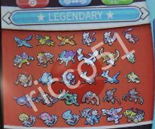 ★ Shiny ★ All Legendary Tutti i Leggendari 6IVs EVs Competitive Pokemon XY ORAS