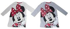 Girls Nightie Pyjamas Disney Minnie Mouse 2-8 years Long Sleeved Official