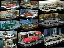 James Bond 1:43 Cars various No's 50 - 123  Part 2 of 2 Choose any