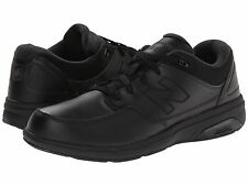 New! New Balance Men's - 813 - Black - Leather Walking - Free shipping!