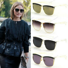 Vintage SO-ELECTRIC Geometric Metal Sunglasses w/ Thin Cutout Arms 1086 *Colors
