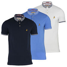 Mens Polo T Shirt Brave Soul Dandy Cotton Collared Short Sleeve Casual Top