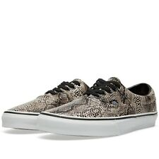 Vans Unisex Era Sneakers ~ Snake  Black/Khaki ~ Classic Skate Shoes