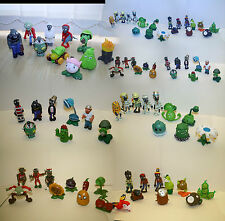 PLANTS VS ZOMBIES ACTION FIGURES, CAKE TOPPERS - 47 DIFFERENT CHARACTERS. UK