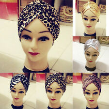 Chic Indian Style Yoga Cap Turban Hat Cloche Chemo Headwrap Hair Cover Headband